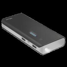 TRUST Primo Power bank / eksterna baterija - 21689  13000 mAh, 1 x Micro USB, 2 x USB A, Li-Ion, Crna/Siva