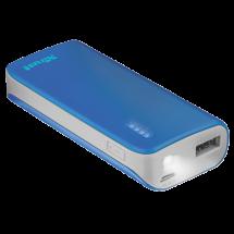 TRUST Primo Power bank / eksterna baterija - 21225  4400 mAh, 1 x Micro USB, 1 x USB A, Li-Ion, Plava