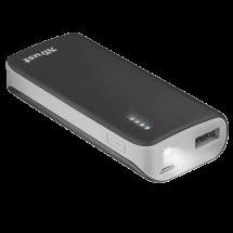 TRUST Primo Power bank / eksterna baterija - 21224  4400 mAh, 1 x Micro USB, 1 x USB A, Li-Ion, Crna