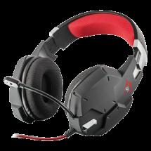 TRUST gejmerske slušalice GXT 322 CARUS (Crna/crvena) - 20408  Stereo, 50mm, 20Hz - 20kHz, 112dB