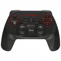 TRUST gamepad GXT 545 (Crni)  Osmosmerni kursor, Wireless, Windows, PlayStation