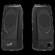 GENIUS 2.0 zvučnici SP-L160 (Crni)  2.0, 6W, 160Hz-18KHz, Plastika