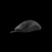 CLICK žični miš M-W1 (Crni)  Optički, 1600dpi, Simetričan (pogodan za obe ruke), Crna
