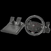 TRUST gejmerski volan TAIVO GXT 288 (Crni) - 20293  Manuelni menjač, Gas i kočnica, Windows, PlayStation