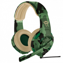 TRUST gejmerske slušalice GXT 310C RADIUS (Maskirne - Jungle Camo) - 22207  Stereo, 40mm, 20Hz - 20kHz, 108dB