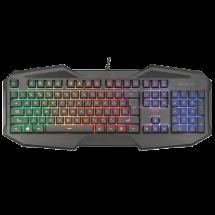 TRUST gejmerska tastatura GXT 830-RW AVONN (Crna) - 21621  Membranski tasteri, 104, 6