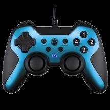 READY 2 GAMING gamepad BRYNTROX (Crno/Plavi) - R2GCBRYNTROXW  Osmosmerni kursor, USB, Windows, PlayStation