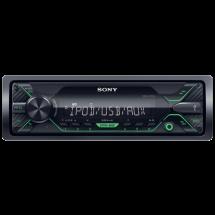 SONY DSX-A212UI,  Tjuner/USB/AUX, MOSFET 4 x 55W, MP3, WMA, FLAC, 1 DIN