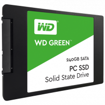 WD SSD Green 240GB, 2.5, SATA III - WDS240G2G0A  240GB, 2.5, SATA III, do 545 MB/s