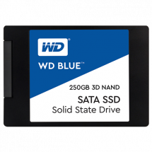 WD SSD Blue 250GB, 2.5, SATA III - WDS250G2B0A  250GB, 2.5, SATA III, do 550 MB/s