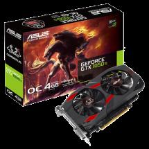 ASUS GeForce GTX 1050 Ti Cerberus OC 4GB GDDR5 128bit - CERBERUS-GTX1050TI-O4G  Nvidia GeForce GTX 1050 Ti, 4GB, GDDR5, 128bit