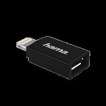 HAMA - 00178400  Adapter, Micro USB ženski, Lightning, Crna