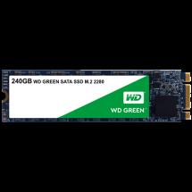 WD SSD Green 240GB, M.2 2280, SATAIII - WDS240G2G0B  240GB, M.2 2280, SATA III, do 545 MB/s