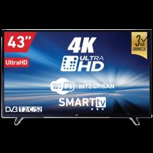 """VOX SMART 43DSW293V  LED, 43"""" (109.2 cm), 4K Ultra HD, DVB-T2/C/S2"""
