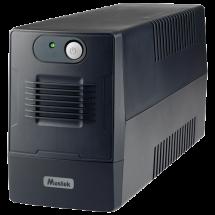 MUSTEK PowerMust 800EG Line Int. Schuko - 800-LED-LIG-T10  UPS, 850VA / 480W, Line-Interactive, 162-290 VAC