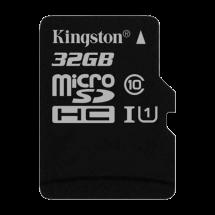 KINGSTON Canvas Select MicroSDHC 32GB class 10 UHS-I - SDCS/32GBSP  microSD, 32GB, UHS U1