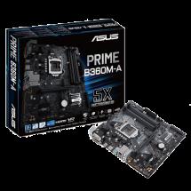 ASUS PRIME B360M-A  Intel, Intel® 1151 (8. i 9. gen.), Intel® B360, Micro ATX