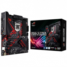 ASUS ROG STRIX B360-H GAMING  Intel, Intel® 1151 (8. i 9. gen.), Intel® B360