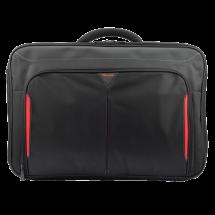"TARGUS Torba za laptop Classic+ Clamshell - CN418EU  do 18"", Crna/Crvena"