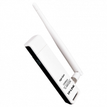 TP-LINK 150Mbps High Gain Wireless USB Adapter TL-WN722N  USB, 802.11 n, USB 2.0, do 150Mbps