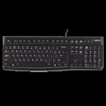 LOGITECH tastatura K120 YU OEM (Crna) - 920-002642  SRB (YU), Do 10 miliona pritisaka