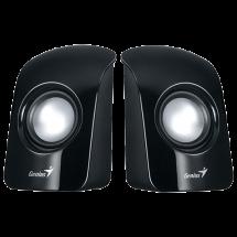 GENIUS SP-U115 2.0 zvučnici (Black) - 31731006100  2.0, 1.5W, 200Hz-18KHz, 80dB
