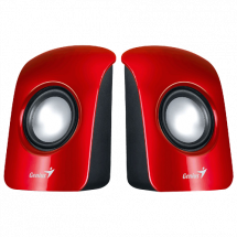 GENIUS SP-U115 2.0 zvučnici (Red) - 31731006101  2.0, 1.5W, 200Hz-18KHz, 80dB