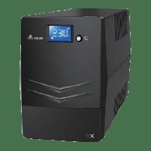 DELTA UPS AGILON familija VX serija 600VA / 360W - VX-600VA  600VA / 360W, Line-Interactive, 170-280 VAC, 230VAC +/-10%