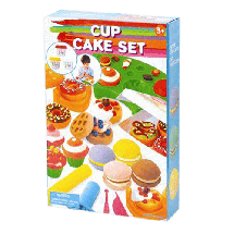 PLAY GO Plastelin set Muffin  Univerzalno, 3+ godina