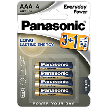 PANASONIC Everyday Power LR03EPS  Alkalna baterija, AAA (LR3), 4/1