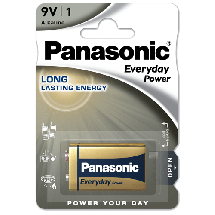 PANASONIC Everyday Power  Alkalna baterija, E-block 9V, 1/1