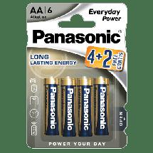 PANASONIC Everyday Power  Alkalna baterija, AA (LR6), 6/1