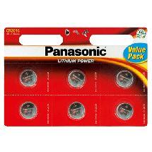 PANASONIC Lithium Power CR2016L  Litijumska baterija, CR2016 (Dugme), 6/1