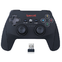 REDRAGON gamepad G808 HARROW (Crni)  Osmosmerni kursor, Wireless, Windows, PlayStation, Android