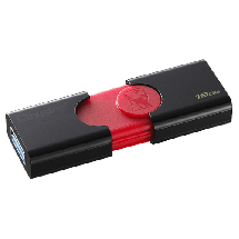 KINGSTON usb memorija DATA TRAVELER 106 - DT106/16GB  USB 3.1, 16GB, Crna/crvena