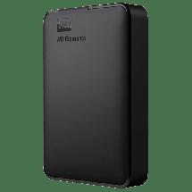 """WD eksterni hard disk ELEMENTS PORTABLE - WDBU6Y0040BBK-WESN  4 TB, Crna, 2.5"""", USB 3.0"""