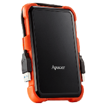 """APACER eksterni HDD AC630 - AP1TBAC630T-1  1TB, Crna / narandžasta, 2.5"""", USB 3.1"""