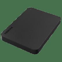 """TOSHIBA eksterni HDD CANVIO BASIC - HDTB410EK3AA  1TB, Crna, 2.5"""", USB 3.0"""