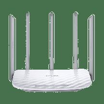 TP-LINK Ruter Archer C60  Wireless, 802.11 a/ac, do 867Mbps, Dual Band (2.4 GHz & 5 GHz)