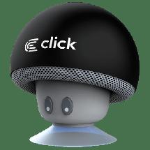 CLICK Portable Bluetooth zvučnik BS-R-M Mushroom (Crna) - BSRMB  Mono, 3W