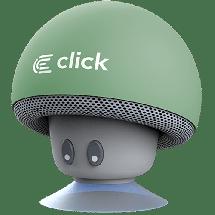 CLICK Portable Bluetooth zvučnik BS-R-M Mushroom (Pastelna zelena)- BSRMBG  Mono, 3W