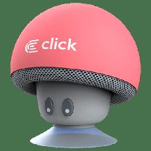 CLICK Portable Bluetooth zvučnik BS-R-M Mushroom (Roze) - BSRMP  Mono, 3W