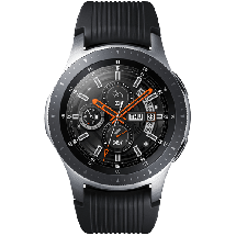 SAMSUNG Galaxy Watch 46 mm Srebrna - SM-R800NZSASEE  1.3""