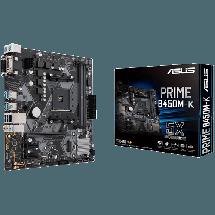 ASUS - SOCKET AM4 - PRIME B450M-K  AMD, AMD® AM4, AMD® B450