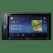PIONEER AVH-A100 DVD,  Tjuner/CD/DVD/USB/AUX, 4 x 50 W, 2 DIN, ISO