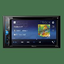 PIONEER AVH-A200BT,  Tjuner/CD/DVD/USB/AUX/BT, 4 x 50 W, 2 DIN, ISO