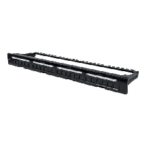 INTELLINET Blank Patch Panel 24-Port 1U (Crna) - 720427  Panel