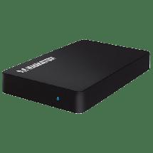 "MANHATTAN SATA HDD Enclosure - 0538165  2.5"", SATA I / II / III, USB 3.0, Metal, plastika"
