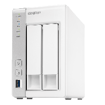 QNAP NAS storage TS-231P  1 GB, 512 MB NAND flash, 2, Power, Reset, USB one touch copy