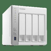 QNAP NAS storage TS-431P  1 GB, 512 MB NAND flash, Power, Reset, USB one touch copy, 90W spoljnje